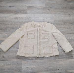 Michael MK | tweed blazer